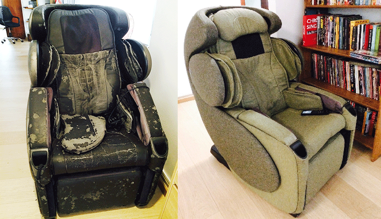 Massage Chair Leather Repair Osaki Os 4000t Massage Chair