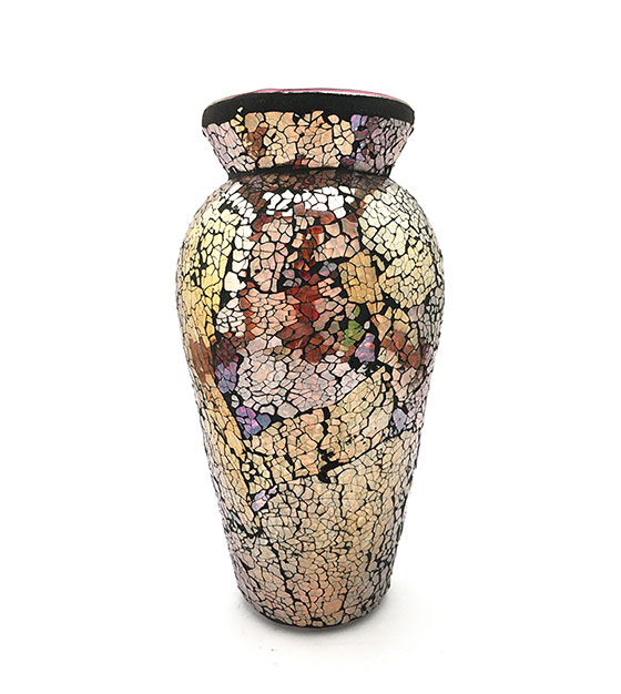 Sale! yellow-mosaic-vase
